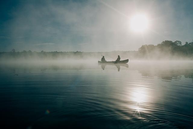 La pesca in inverno!