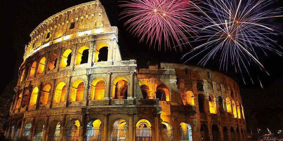Roma: location meravigliosa per il tuo Capodanno 2020